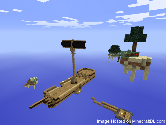 2ec6f  Wreckage Survival and Adventure Map 2 580x435 Wreckage Survival and Adventure Map for Minecraft 1.2.5