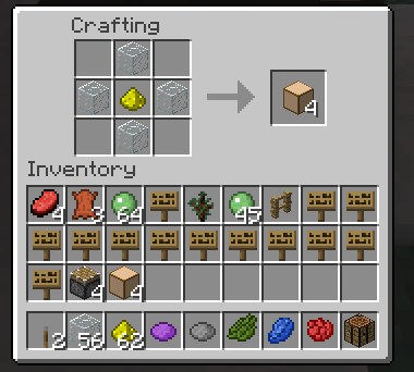 63944  Craftingrecipie GlassLight Mod For Minecraft 1.2.5