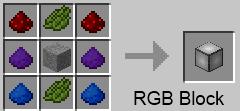 RGB Block recipe