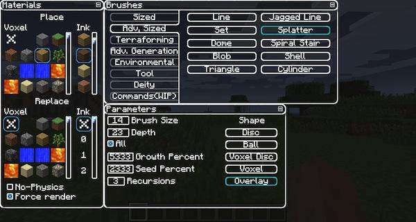 VoxelSniperGUI Mod