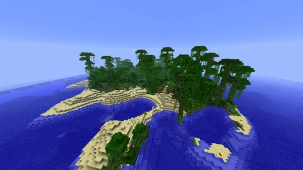 c248a  Jungle Island Map Jungle Island Map for Minecraft 1.3.2