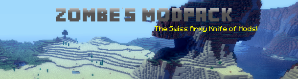 5289f  Zombes Mod Zombe's Modpack for Minecraft 1.4.2