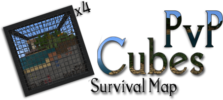 57967  Cube survival map 3 Cube Survival Map for Minecraft