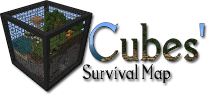 693a3  Cube survival map 1 Cube Survival Map for Minecraft