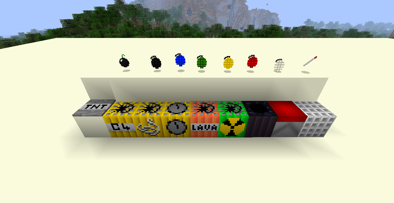 e204b  More Explosives Mod 1 More Explosives Mod for Minecraft 1.4.2