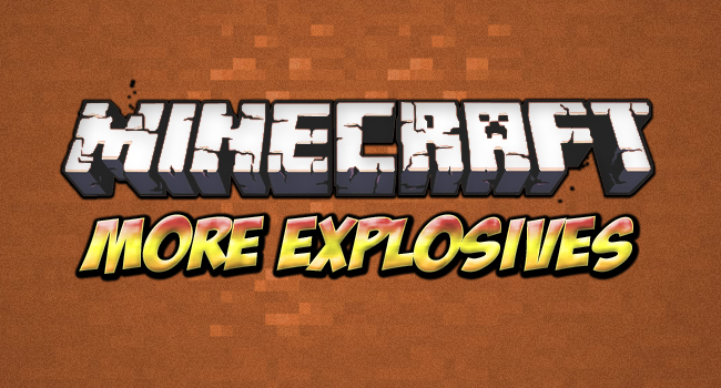more explosives mod More Explosives Mod for Minecraft 1.4.2