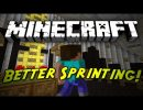 Better Sprinting Mod for Minecraft 1.4.4