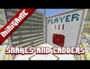 Snakes and Ladders Map for Minecraft