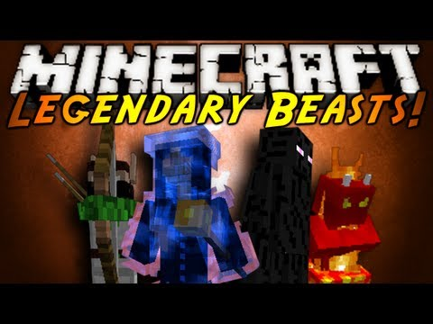0 2 Legendary Beasts Mod for Minecraft 1.4.2