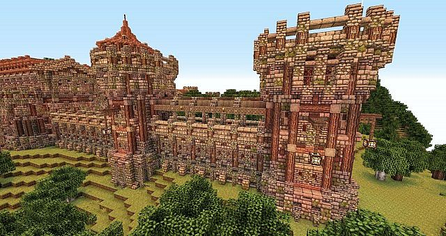 Castle Wall Bundle Map Download | Minecraft Forum