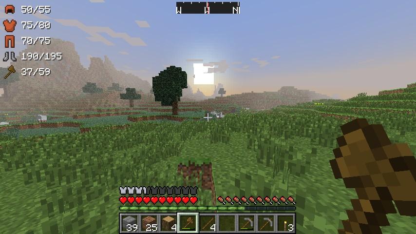31976  ArmorStatusHUD Mod 1 ArmorStatusHUD Mod for Minecraft 1.4.4