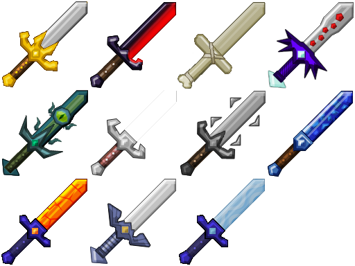40c4f  More Swords Mod 1 More Swords Mod for Minecraft 1.4.6