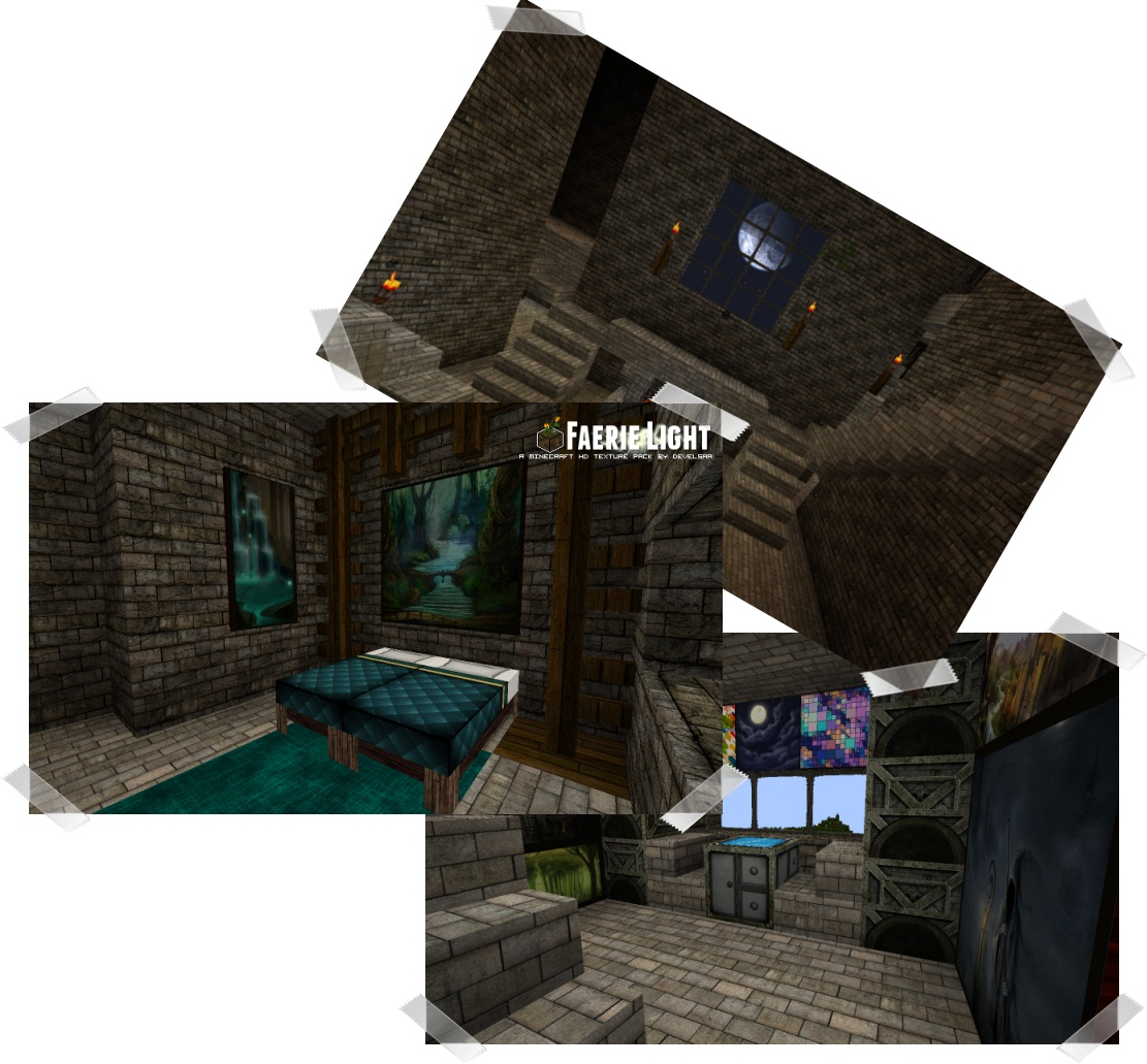 4801c  Faerielight texture pack 3 [1.5.2/1.5.1] [128x] Faerielight Texture Pack Download