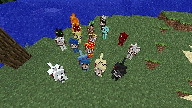 60217  Wolves Mod 1 [1.5.1] Wolves+ Mod Download