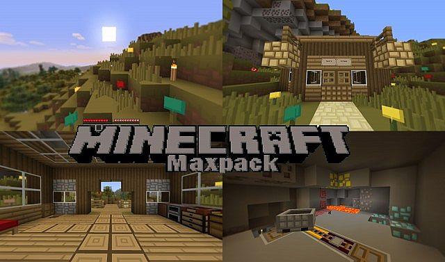 68232  Maxpack Texture Pack [1.5.2/1.5.1] [16x] Maxpack Texture Pack Download