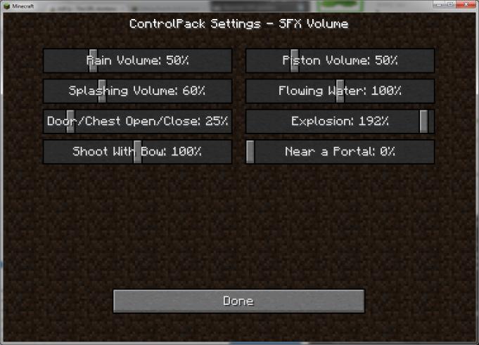 7110a  ControlPack Mod 3 ControlPack Screenshots