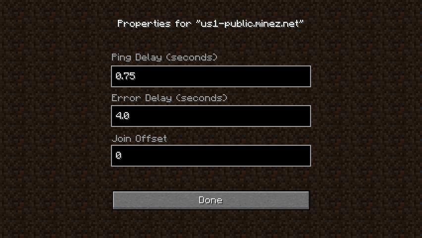 71de1  AutoJoin Mod 2 AutoJoin Mod for Minecraft 1.4.4