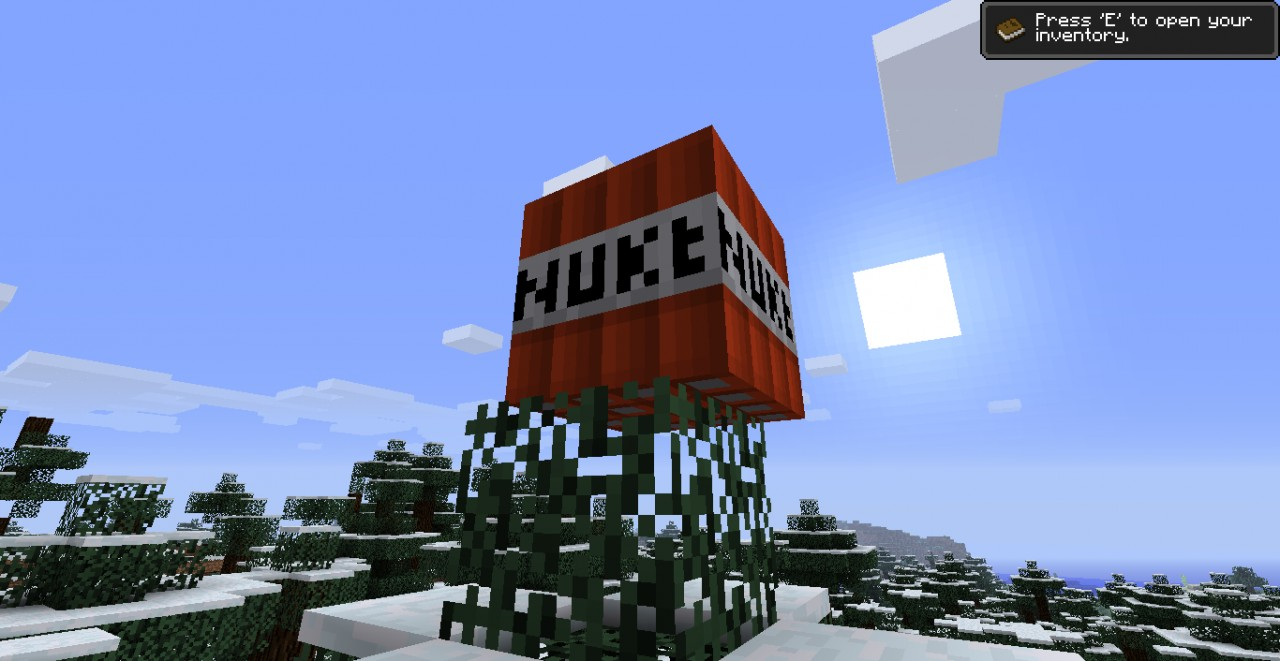 78a39  Nuke Minecraft Mod 2 Nuke Screenshots