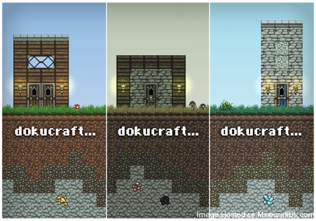 DokuCraft Texture Pack 1 7 640x448 [1.4.7/1.4.6] [32x] Dokucraft Texture Pack Download