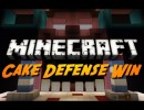 Cake Defense Map for Minecraft