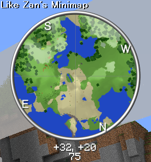 a4385  Rei Minimap Mod 7 [1.5.2] Rei's Minimap Mod Download