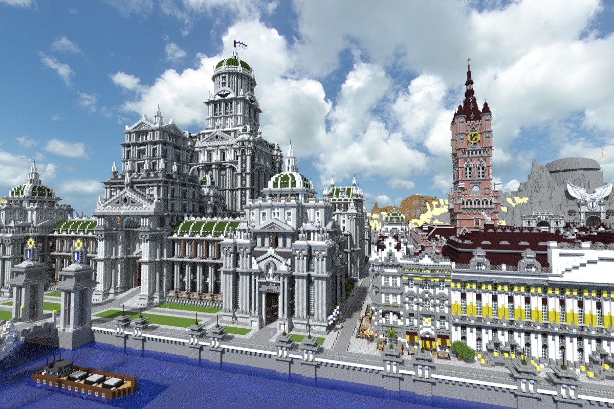 Imperial City Map Download | Minecraft Forum