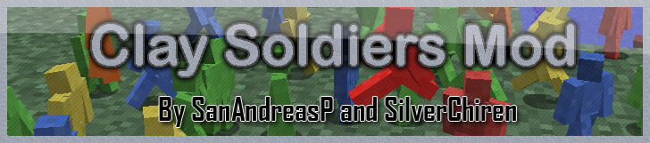 d6520  Clay Soldiers Mod Clay Soldiers Mod for Minecraft 1.4.2/1.4.3