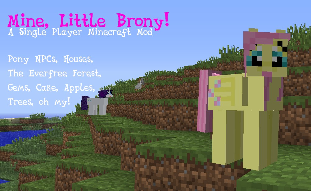 ed334  Mine Little Brony Mod 1 [1.5.2] Mine Little Brony Mod Download