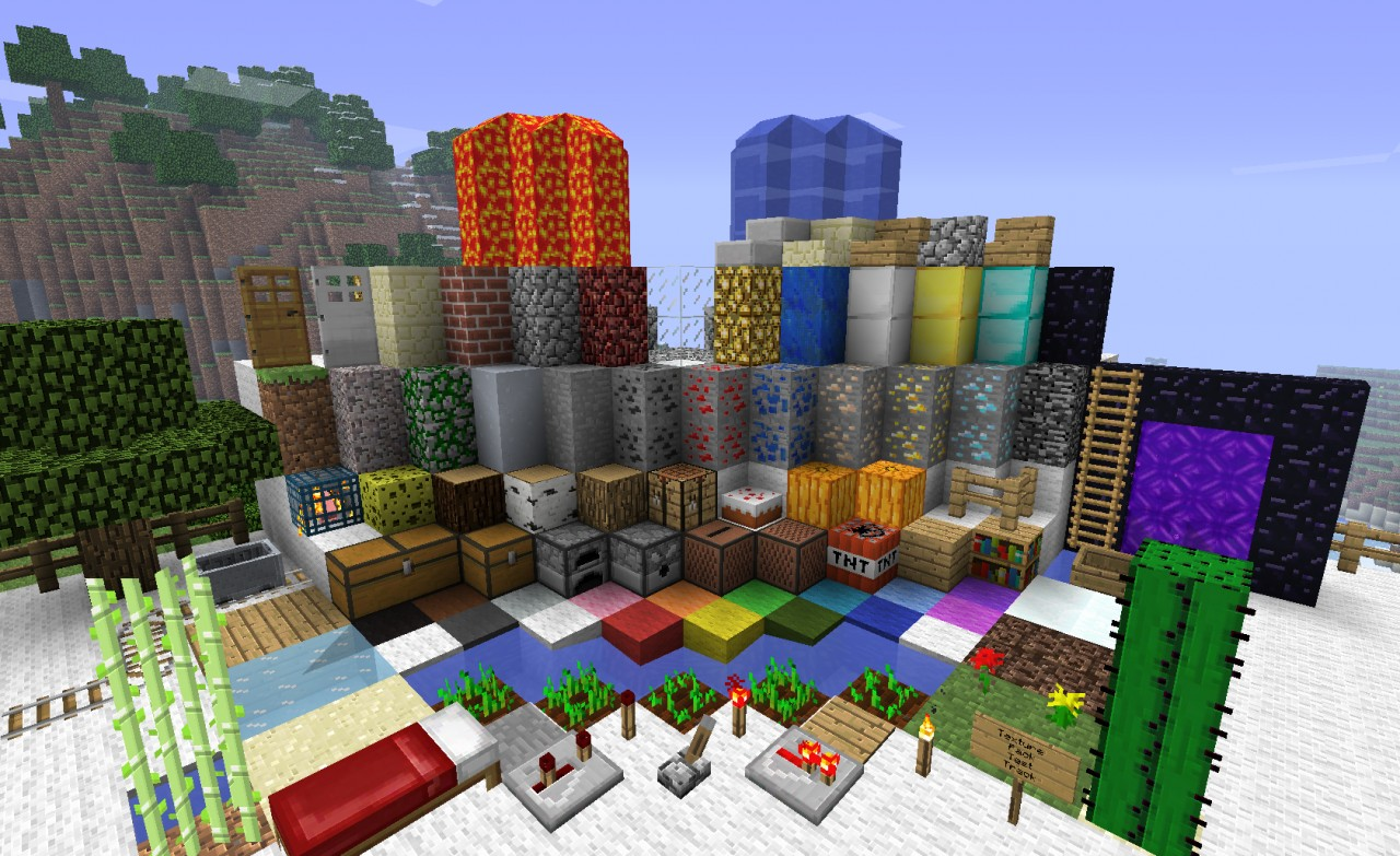 f0222  Traditional beauty texture pack 1 [1.7.2/1.6.4] [64x] Traditional Beauty Texture Pack Download