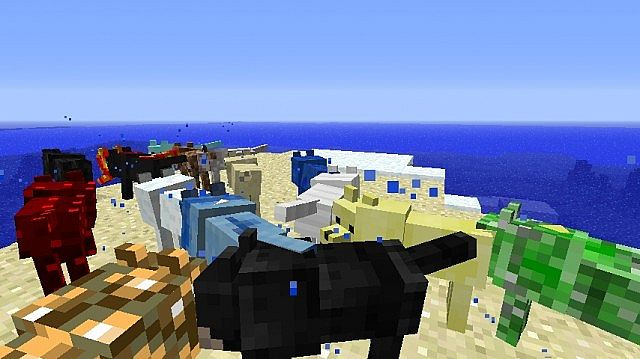 f3de6  Wolves Mod 6 [1.5.1] Wolves+ Mod Download