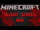 The Bloody Screen Mod for Minecraft 1.4.2