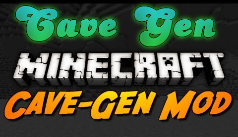 minecraft cave gen pic Cave Gen Mod for Minecraft 1.4.5