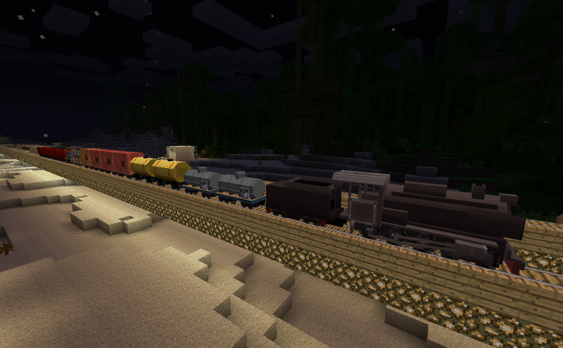 13097  Traincraft Mod 1 Traincraft Screenshots