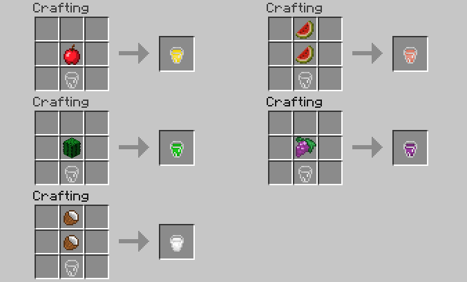 3052f  1352824720 craft jus Lots of Food Mod for Minecraft 1.4.5