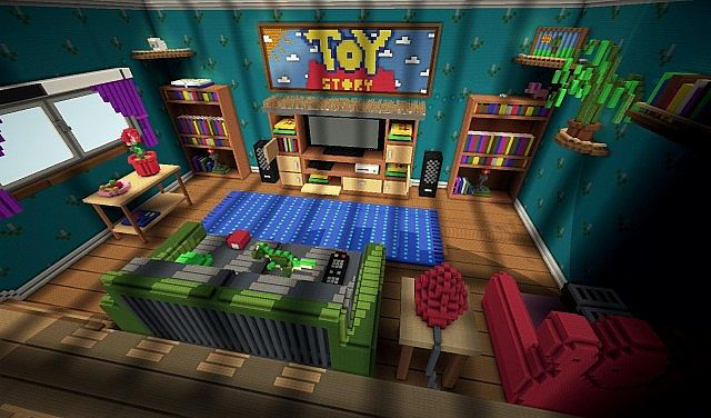 38156  Toy Story 2 Map 2 Toy Story 2 Adventure Map (Polish version) for Minecraft