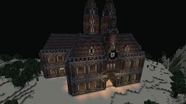 55340  Haunted House Map 3 Haunted House Map for Minecraft