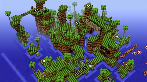 Sonic The Hedgehog Map For Minecraft 1 4 5 Minecraft Forum