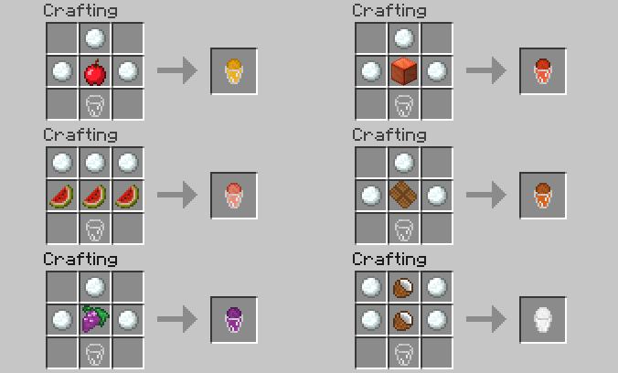 75092  1352824720 craft glaces Lots of Food Mod for Minecraft 1.4.5