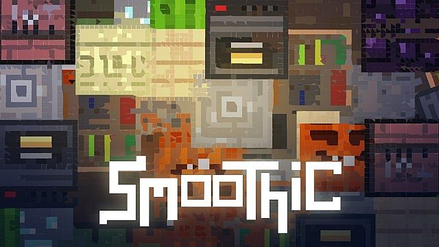 76d74  Smoothic texture pack [1.5.2/1.5.1] [16x] Smoothic Texture Pack Download