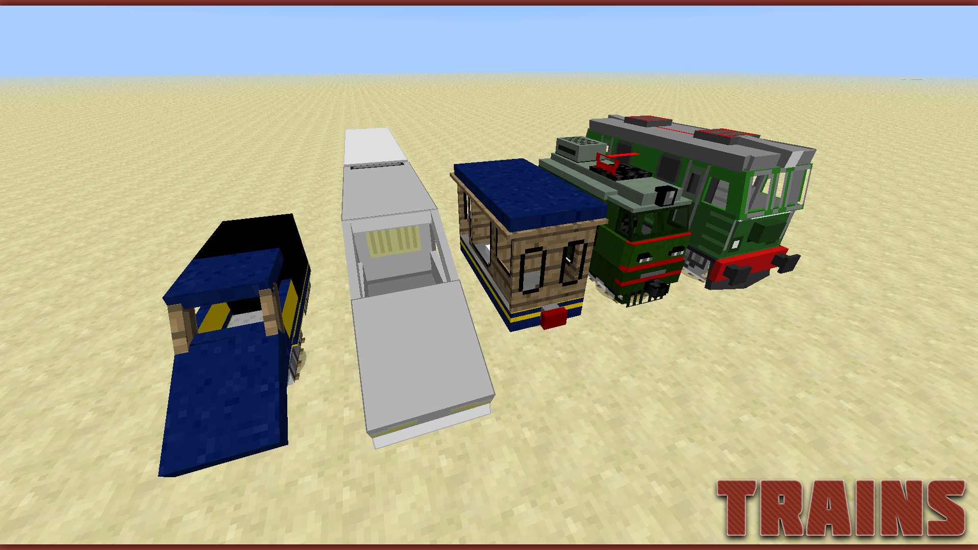 77d34  Trains1 Traincraft Screenshots