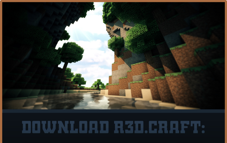 93dc8  R3D Craft 1 [1.7.2/1.6.4] [32x] R3D.CRAFT Texture Pack Download