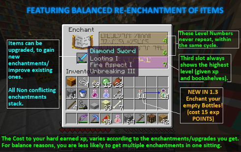 how to know what enchantment you get in minecraft