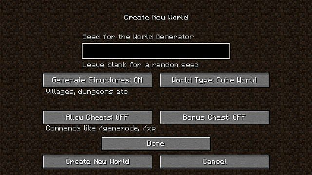 b64c6  Cube World Mod 2 [1.6.1] Cube World Mod Download
