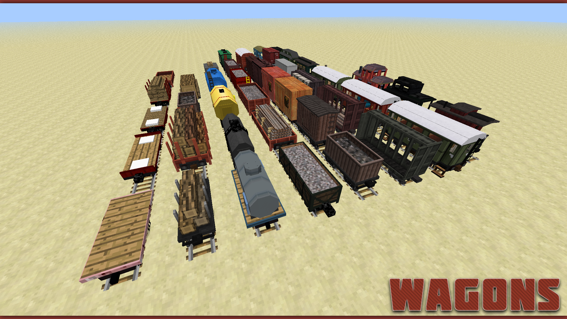b8a8b  Wagons2 Traincraft Screenshots