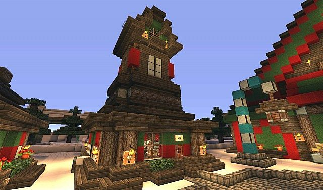 The North Pole Santa S Secret Village Map Download