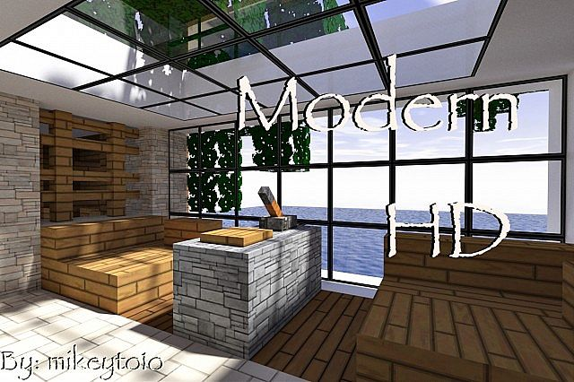 e2733  Modern hd texture pack [1.7.2/1.6.4] [64x] Modern HD Texture Pack Download