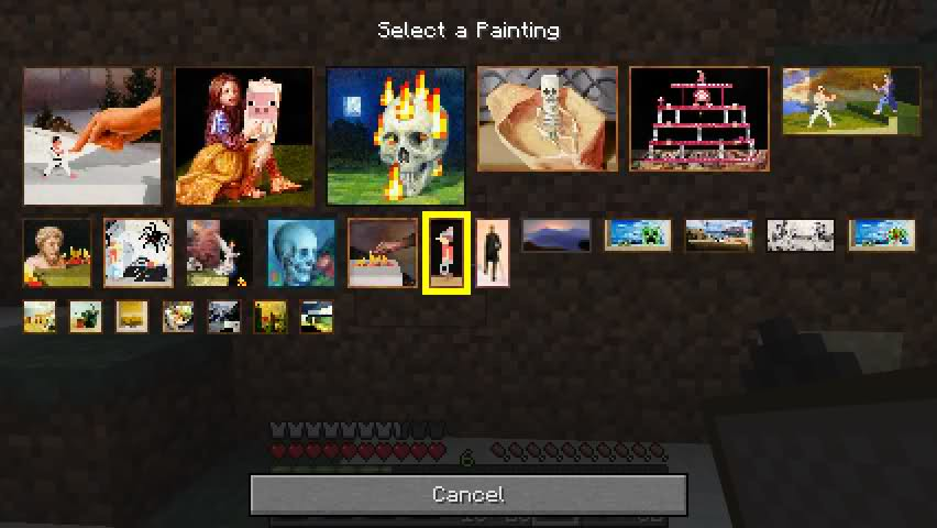 fec86  Painting Selection GUI Mod 1 [1.7.2] Painting Selection GUI Mod Download