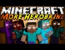 More Herobrines Mod for Minecraft 1.4.6