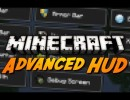 Advanced HUD Mod for Minecraft 1.4.6/1.4.5