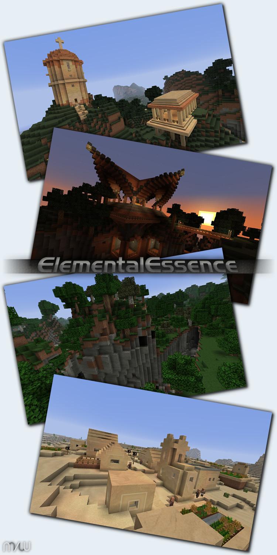 26aae  Elementalessence texture pack [1.7.2/1.6.4] [16x] ElementalEssence Texture Pack Download